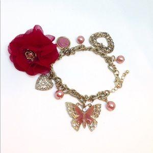 Chained Charm Bracelet Beautiful & Unique
